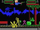 Trigger MSX Enemies throwing things at the player.