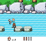 Tintin in Tibet Game Boy Color Little Snowy needed rescuing, too.