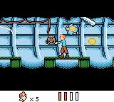 Tintin in Tibet Game Boy Color Inside the wreckage