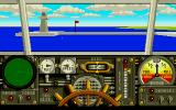Advanced Destroyer Simulator Atari ST In port