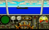 Advanced Destroyer Simulator Atari ST Ship ahead
