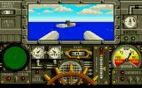 Advanced Destroyer Simulator Atari ST Enemy ship is sinking