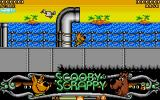 Scooby-Doo and Scrappy-Doo Atari ST First level