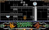 Scooby-Doo and Scrappy-Doo Atari ST Scrappy is out of energy