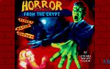 Horror Zombies from the Crypt Atari ST Title screen