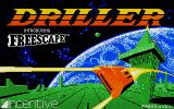 Space Station Oblivion Atari ST Title screen
