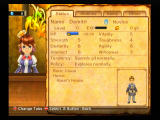 Final Fantasy: Crystal Chronicles - My Life as a King Wii Checking on your adventurers stats.