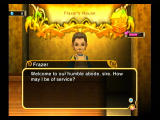 Final Fantasy: Crystal Chronicles - My Life as a King Wii Visiting the peasantry.