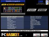 PC Basket 2.0 DOS Compare the stats of all ACB league players