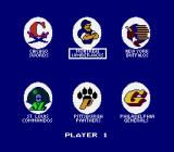"Roger Clemens' MVP Baseball NES Picking a team from ""National Division East"" for player 1"