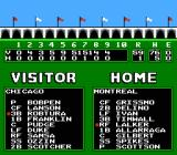 Roger Clemens' MVP Baseball NES Ok I don't know much about baseball but I know 59 to 1 is a very bad score.