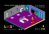 NEIL Android Amstrad CPC The teleport room