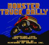 Monster Truck Rally  NES Title screen