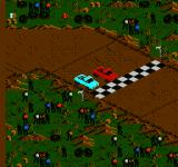 Monster Truck Rally  NES At the starting line