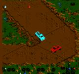Monster Truck Rally  NES A bend in the road