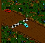 Monster Truck Rally  NES Crossing the finish line.