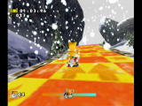 Sonic Adventure DX (Director's Cut) GameCube A speed boost.