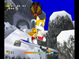 Sonic Adventure DX (Director's Cut) GameCube Doing a jump will zoom in on our rambunctious fox.