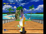 Sonic Adventure DX (Director's Cut) GameCube As sonic you are tailed by your foxy companion.