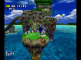 Sonic Adventure DX (Director's Cut) GameCube A running jump.