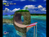 Sonic Adventure DX (Director's Cut) GameCube Camera's zoom out for loops.