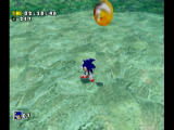 Sonic Adventure DX (Director's Cut) GameCube Running around under the sea.