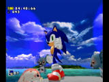 Sonic Adventure DX (Director's Cut) GameCube Stage clear.