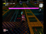 Sonic Adventure DX (Director's Cut) GameCube A beam to jump over.