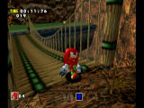 Sonic Adventure DX (Director's Cut) GameCube Knuckles searches for Chaos emeralds.