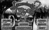 Lemmings 2: The Tribes DOS Title Screen (Monochrome VGA Mode)