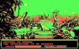 Metal Mutant DOS First Game Screen (CGA)