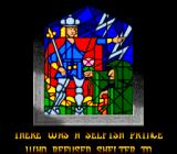 Disney's Beauty and the Beast SNES Stained glass narrative