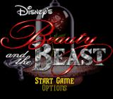 Disney's Beauty and the Beast SNES Title screen