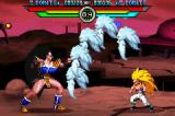 Dragon Ball Z: Taiketsu Game Boy Advance Gotenks using Super Ghost Kamikaze