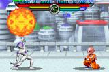 Dragon Ball Z: Taiketsu Game Boy Advance Frieza using Death Ball to Krillin