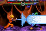 Dragon Ball Z: Taiketsu Game Boy Advance Goku using a Super Kamehameha Wave