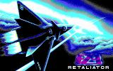 F29 Retaliator DOS Title Screen (EGA)
