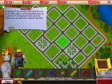 Puzzle City Windows Here's Biff giving you a tip on how to use power ups. That green area on the map must be built with residential blocks.