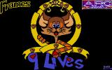 9 Lives Atari ST Loading screen