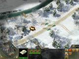 Blitzkrieg 2 Windows German infantry under attack by Soviet tanks.