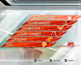 Virtua Tennis 3 Windows Main menu
