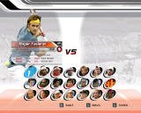 Virtua Tennis 3 Windows Choose your favorite player