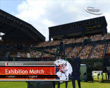 Virtua Tennis 3 Windows Exhibition match starting
