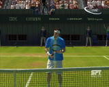 Virtua Tennis 3 Windows Player checking if his Tennis Racquet is alright