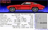 The Duel: Test Drive II Car Disk - The Muscle Cars DOS Corvette Sting Ray - 327cid