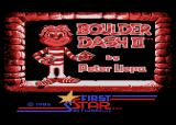 Boulder Dash II: Rockford's Revenge Atari 8-bit Title Screen