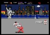 World Karate Championship Atari 8-bit Scenery 2 - USA