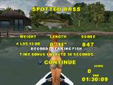 Big Bass Fishing PlayStation Get bonus time and points for caught fish.