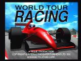 World Tour Racing Jaguar Title Screen