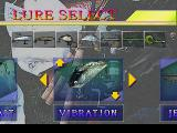 Fisherman's Bait: A Bass Challenge PlayStation Select a lure.
